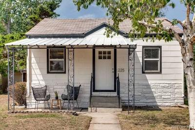 Denver Single Family Home Active: 225 South Dale Court