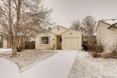 Aurora Single Family Home Active: 17828 East Cornell Drive