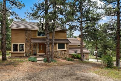Larkspur Single Family Home Under Contract: 9606 South Perry Park Road