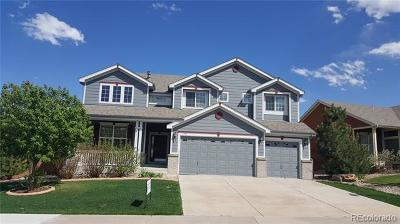 Castle Rock Single Family Home Active: 1198 Baguette Drive