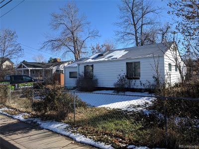 Denver Single Family Home Active: 2730 West Amherst Avenue