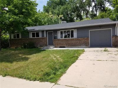 Northglenn Single Family Home Active: 255 East 112th Drive