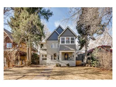 Denver CO Single Family Home Under Contract: $1,050,000