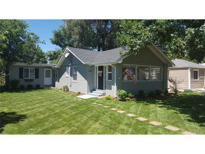 Denver Single Family Home Active: 1635 South Steele Street