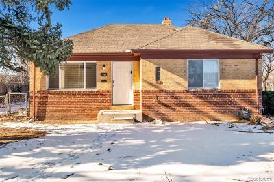 Aurora, Denver Single Family Home Under Contract: 1995 Iola Street