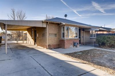 Denver Single Family Home Active: 3540 Martin Luther King Boulevard
