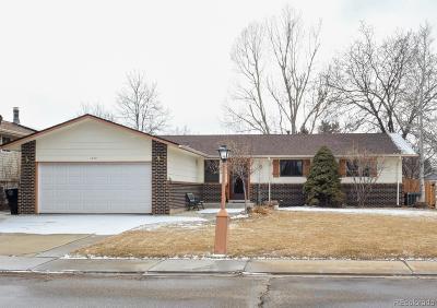 Longmont Single Family Home Active: 1349 Garden Place