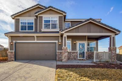 Castle Rock Single Family Home Under Contract: 431 Ellendale Street