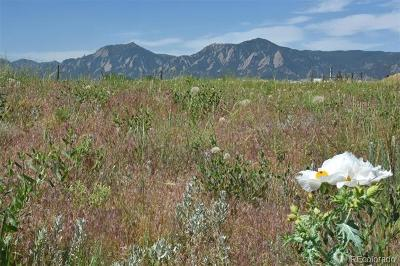 Boulder Residential Lots & Land Active: 5864 Rustic Knolls Drive