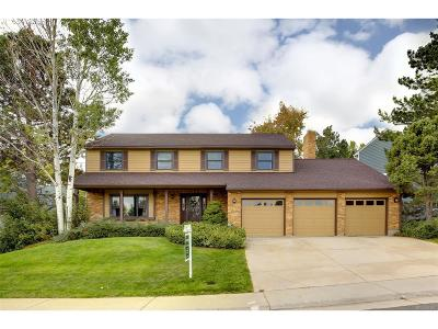 Littleton Single Family Home Active: 7016 South Miller Court