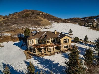 Castle Rock Single Family Home Under Contract: 1443 Cactus Rose Circle