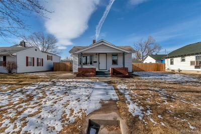 Denver Single Family Home Active: 5185 Alcott Street