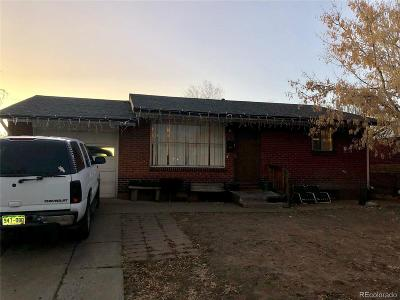 Commerce City Single Family Home Under Contract: 6611 Niagara Street