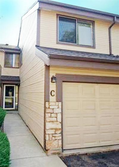 Littleton Condo/Townhouse Under Contract: 8354 South Everett Way #C