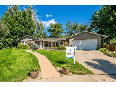 Boulder Single Family Home Active: 735 Jonquil Place