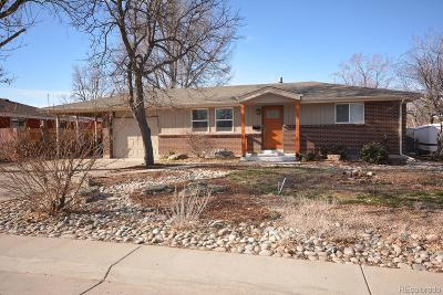 Arvada Single Family Home Active: 8361 Chase Way