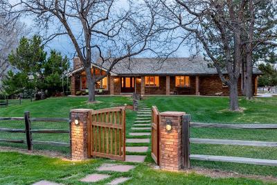 Littleton Single Family Home Active: 693 Front Range Road