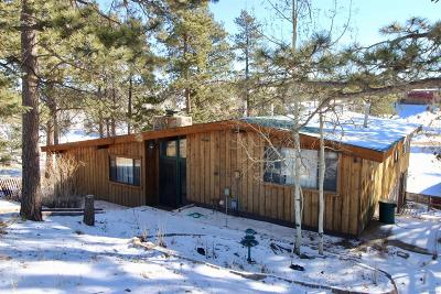 Woodland Park Single Family Home Under Contract: 15478 West Us Highway 24