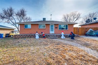 Englewood Single Family Home Active: 3170 West Edgemore Drive