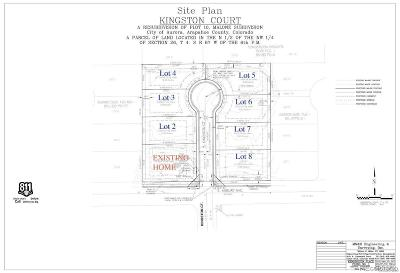 Aurora Residential Lots & Land Under Contract: 1988 Kingston Court