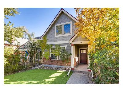 Baker, Baker/Santa Fe, Broadway Terrace, Byers, Santa Fe Arts District Single Family Home Active: 334 Fox Street
