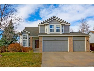 Aurora, Denver Single Family Home Under Contract: 18109 East Caspian Place