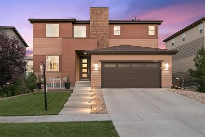 Commerce City Single Family Home Under Contract: 10762 Sedalia Circle