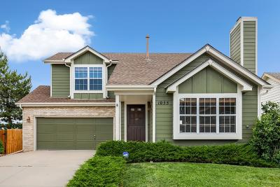 Highlands Ranch Single Family Home Active: 1055 Cobblestone Drive