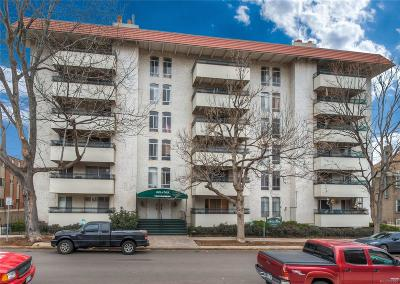 Castle Rock, Conifer, Cherry Hills Village, Greenwood Village, Englewood, Lakewood, Denver Condo/Townhouse Active: 1365 Columbine Street #604