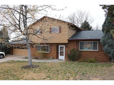 Castle Rock Single Family Home Under Contract: 171 Memmen Drive