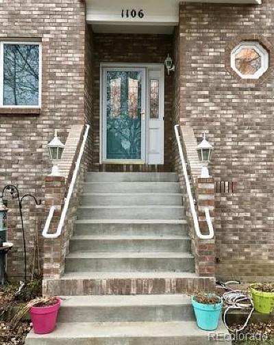 Golden Condo/Townhouse Under Contract: 1106 Maple Street #3