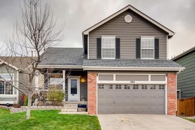 Highlands Ranch Single Family Home Under Contract: 1244 Mulberry Lane