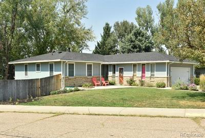 Greeley Single Family Home Active: 1651 36th Avenue Court