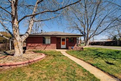 Wheat Ridge Single Family Home Under Contract: 3700 Fenton Street
