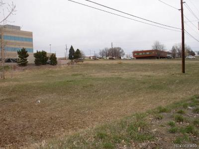 Westminster Residential Lots & Land Active: 8300 Alcott Street