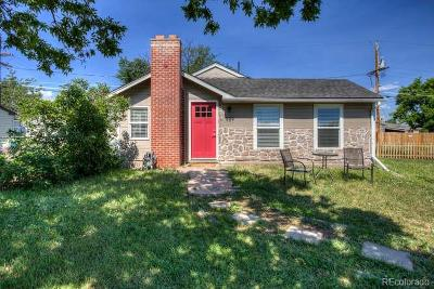Denver Single Family Home Under Contract: 989 South Newton Street