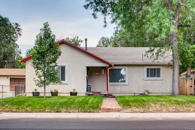 Englewood Single Family Home Active: 4380 South Galapago Street