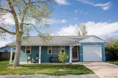 Littleton Single Family Home Under Contract: 2163 West Arbor Avenue