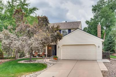 Centennial Single Family Home Under Contract: 5418 East Hinsdale Place