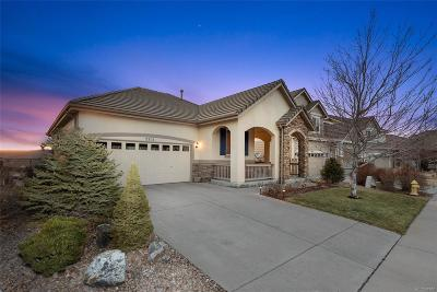 Castle Rock Single Family Home Under Contract: 2315 Broadleaf Loop