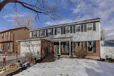Aurora Single Family Home Active: 14909 East Wesley Avenue