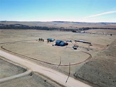 Kiowa Single Family Home Under Contract: 9770 County Road 134