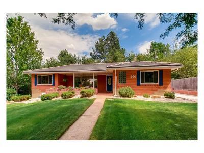 Lakewood Single Family Home Active: 660 Park Lane