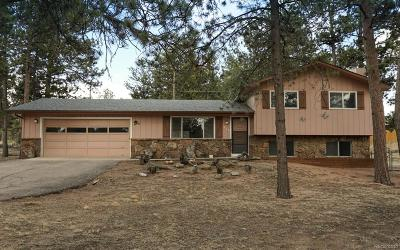 Woodland Park Single Family Home Under Contract: 575 Sunnywood Lane