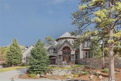 Castle Rock CO Single Family Home Active: $1,700,000