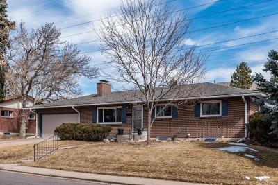 Single Family Home Under Contract: 3650 South Ulster Street