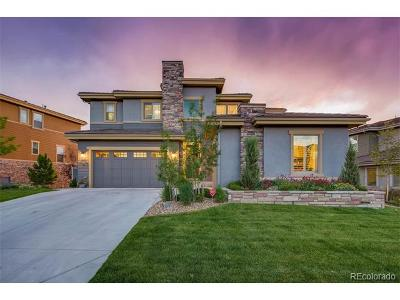 Highlands Ranch Single Family Home Active: 10729 Skydance Drive