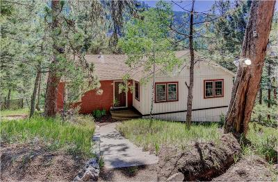 Conifer Single Family Home Under Contract: 13274 Shiloh Road
