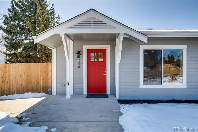 Lakewood Single Family Home Active: 7870 West 26th Avenue