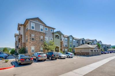 Castle Rock CO Condo/Townhouse Active: $249,500